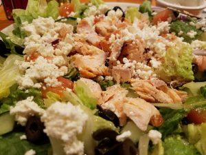 Salad in Winston Salem cafe
