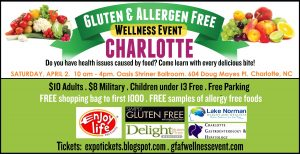 Gluten Free & Allergy Free Event in Charlotte
