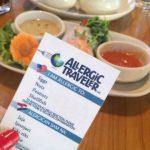 Allergic Traveler cards