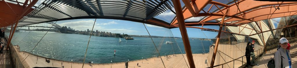 View from within Sydney Opera House