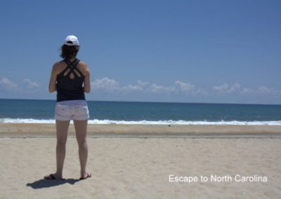 Me standing at the National Seashore